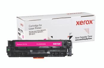 Magenta Standard Yield Everyday Toner from Xerox, replacement for HP CE413A Yields 2,600 pages