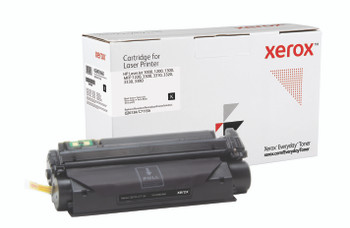 Black Standard Yield Everyday Toner from Xerox, replacement for HP Q2613A, C7115A Yields 2,500 pages