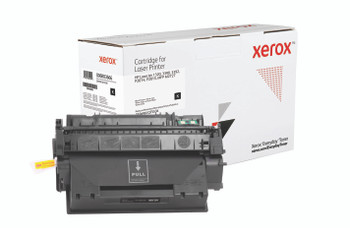 Black High Yield Everyday Toner from Xerox, replacement for HP Q5949X, Q7553X Yields 6,000 pages