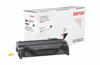 Black Standard Yield Everyday Toner from Xerox, replacement for HP CF280A Yields 2,700 pages