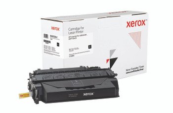 Black High Yield Everyday Toner from Xerox, replacement for HP CF280X Yields 6,900 pages