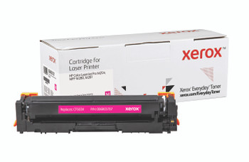 Magenta High Yield Everyday Toner from Xerox, replacement for HP CF503X Yields 2,500 pages