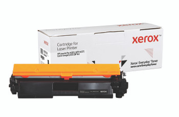 Black Standard Yield Everyday Toner from Xerox, replacement for HP CF230A, Canon CRG-051 Yields 1,600 pages