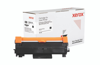 Black Standard Yield Everyday Toner from Xerox, replacement for Brother TN-760 Yields 3,000 pages