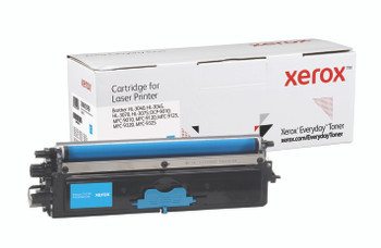 Cyan Standard Yield Everyday Toner from Xerox, replacement for Brother TN210C Yields 1,400 pages