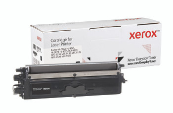 Black Standard Yield Everyday Toner from Xerox, replacement for Brother TN210BK Yields 2,200 pages