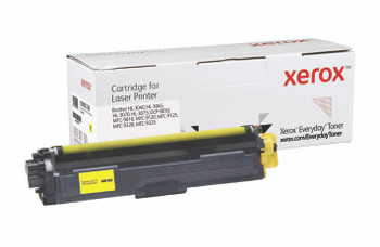 Yellow Standard Yield Everyday Toner from Xerox, replacement for Brother TN210Y Yields 1,400 pages