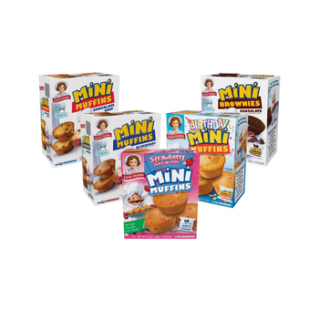 Little Debbie Mini Muffin and Brownie Variety Bundle features all of your favorite Little Debbie Minis