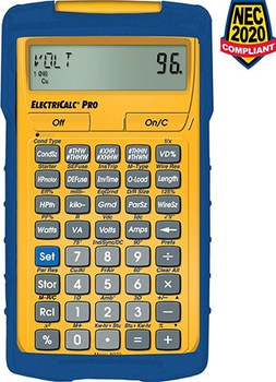 Front face of the ElectriCalc Pro Calculator