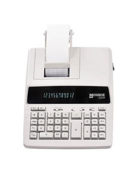 Top view of Monroe 6120X Ivory Print Calculator/Adding Machine
