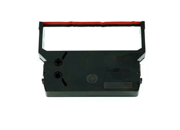 Front view of GRC E248 CITIZEN IR-61RB BLACK AND RED RIBBON
