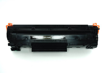 This is the front view of the HP 78A replacement laserjet toner cartridge by NXT Premium toner