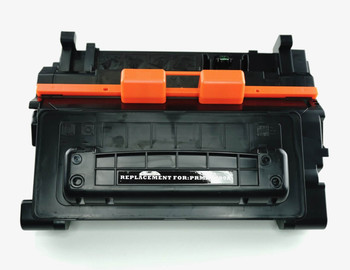This is the front view of the HP 90A replacement laserjet toner cartridge by NXT Premium toner