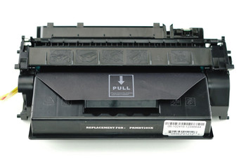 This is the front view of the HP 80X replacement laserjet toner cartridge by NXT Premium toner