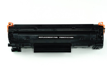 This is the front view of the Canon 128 replacement laserjet toner cartridge by NXT Premium toner