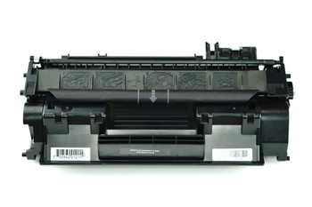 This is the front view of the HP 80A replacement laserjet toner cartridge by NXT Premium toner
