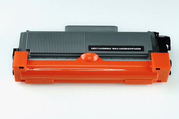 This is the front view of the Dell P7RMX replacement laserjet toner cartridge by NXT Premium toner