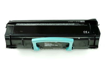 This is the front view of the Lexmark E260 replacement laserjet toner cartridge by NXT Premium toner