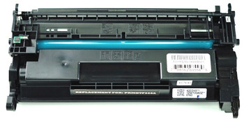 This is the front view of the HP 26A replacement laserjet toner cartridge by NXT Premium toner