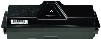 This is the front view of the Kyocera TK1142 replacement laserjet toner cartridge by NXT Premium toner