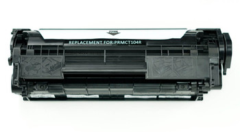 This is the front view of the Canon 104 replacement laserjet toner cartridge by NXT Premium toner