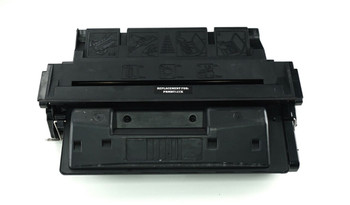 This is the front view of the Hewlett Packard 27X black replacement laserjet toner cartridge by NXT Premium toner