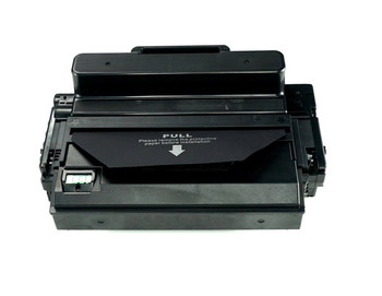 This is the front view of the Samsung MLT-D203L Black replacement laserjet toner cartridge by NXT Premium toner