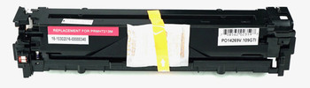 This is the front view of the Hewlett Packard 131A magenta replacement laserjet toner cartridge by NXT Premium toner