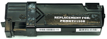 This is the front view of the Dell 899WG black replacement laserjet toner cartridge by NXT Premium toner