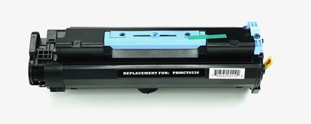 This is the front view of the Canon 106 black replacement laserjet toner cartridge by NXT Premium toner
