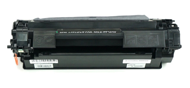 This is the front view of the Hewlett Packard 83X black replacement laserjet toner cartridge by NXT Premium toner