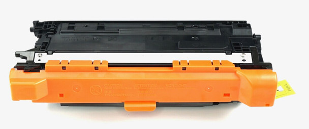 This is the front view of the Hewlett Packard 647A black replacement laserjet toner cartridge by NXT Premium toner