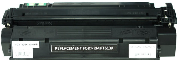 This is the front view of the HP 13X black replacement laserjet toner cartridge by NXT Premium toner
