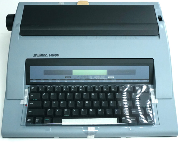 Brand New Swintec 2416DM Portable Electronic Display Typewriter