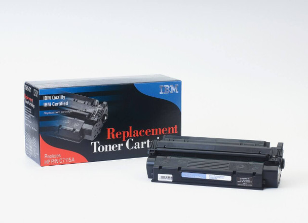 IBM Compatible HP 15A / C7115A Laserjet Toner Cartridge Replacement for HP 15A, C7115A Black, Used in Hewlett-Packard 1000, 1000W, 1005W, 1200, 1200N, 1200SE, 1220, 1220SE, 3300, 3300MFP, 3310MFP, 3320MFP, 3320NMFP, 3330MFP, 3380AIO Printer