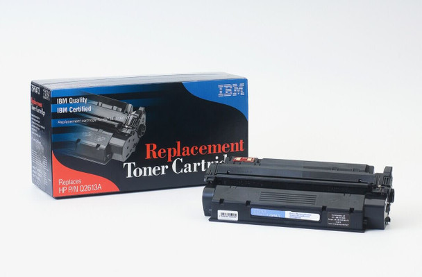 IBM Compatible HP 13A / Q2613A Laserjet Toner Cartridge Replacement for HP 13A, Q2613A Black, Used in Hewlett-Packard 1300, 1300N, 1300T, 1300xi Printer