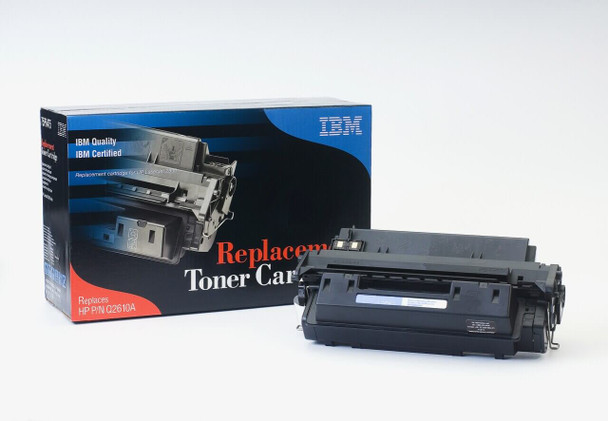 IBM Compatible HP 10A / Q2610A Laserjet Toner Cartridge Replacement for HP 10A, Q2610A, Black, Used in Hewlett-Packard 2300, 2300D, 2300L, 2300N, 2300DN, 2300DTN Printer