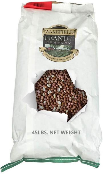 Wakefield Virginia Peanuts Shelled Animal Peanuts, 45LB Bag