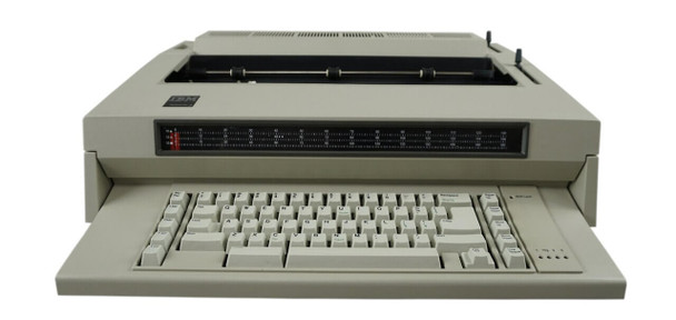 IBM Lexmark Wheelwriter 3 Electric Typewriter Front View