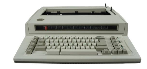 IBM Lexmark Personal Wheelwriter 1 Electric Typewriter Front View