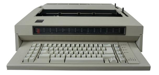 IBM Lexmark Wheelwriter 5 Typewriter Front View