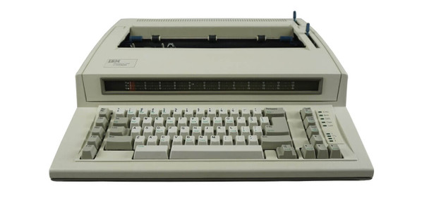 IBM Lexmark Wheelwriter 1000 Electric Typewriter Front View