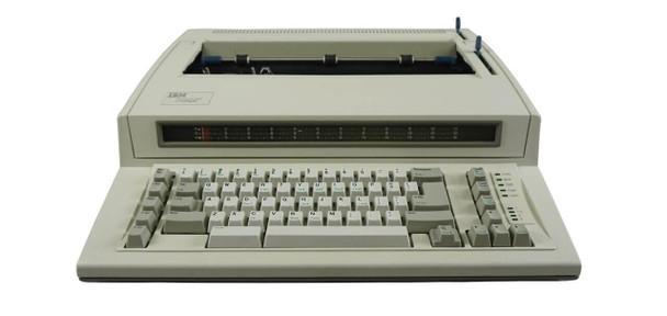 IBM Lexmark Wheelwriter 1000 Electric Typewriter Front View