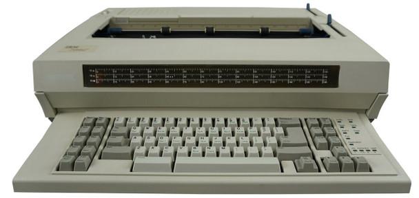 IBM Lexmark Wheelwriter 1500 Electronic Typewriter Front View