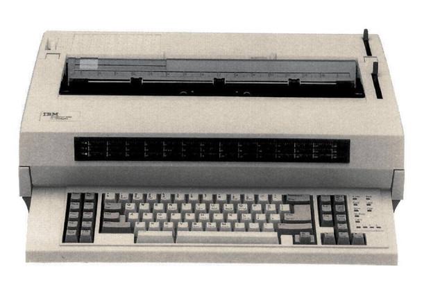 IBM Wheelwriter 3000 Reconditioned Typewriter