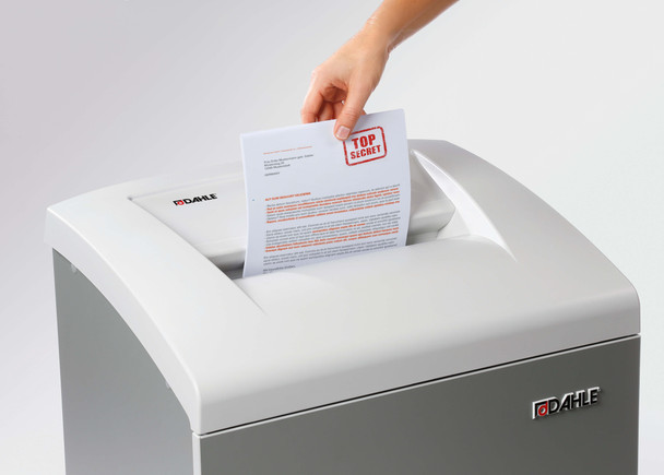 Dahle 50114 Oil-Free Paper Shredder, Small Office