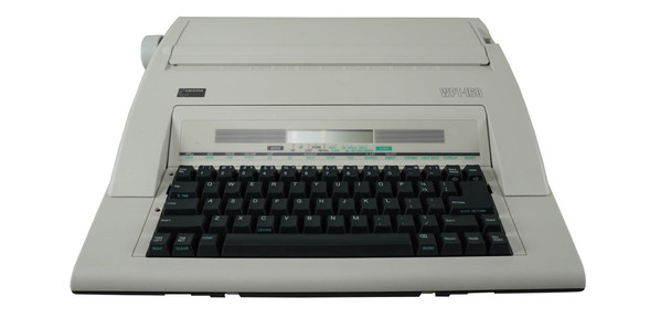 Nakajima WPT-160 Portable Electric Word Processing Typewriter
