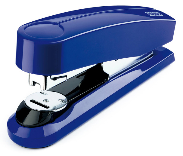 B4fc Compact Flat Clinch Stapler (Blue)