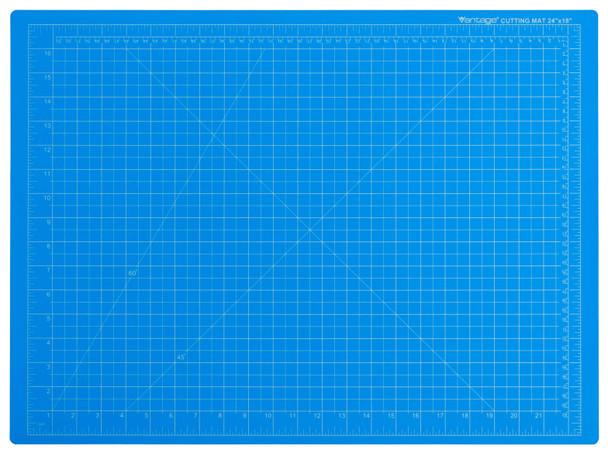 """Vantage® 18"""" x 24"""" Self-Healing Cutting Mat (Blue)"""