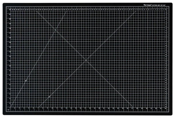 "Vantage® 24"" x 36"" Self-Healing Cutting Mat (Black)"